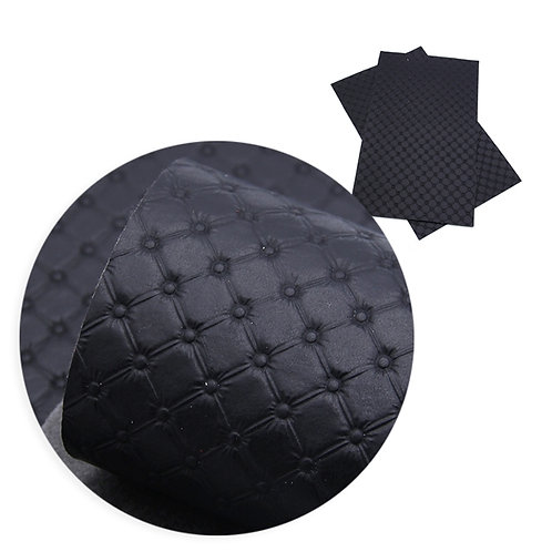 Black Tufted Embroidery Vinyl