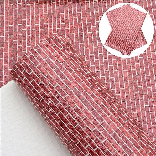 Brick Woven Embroidery Vinyl