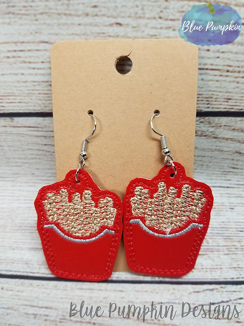 French Fries Earrings