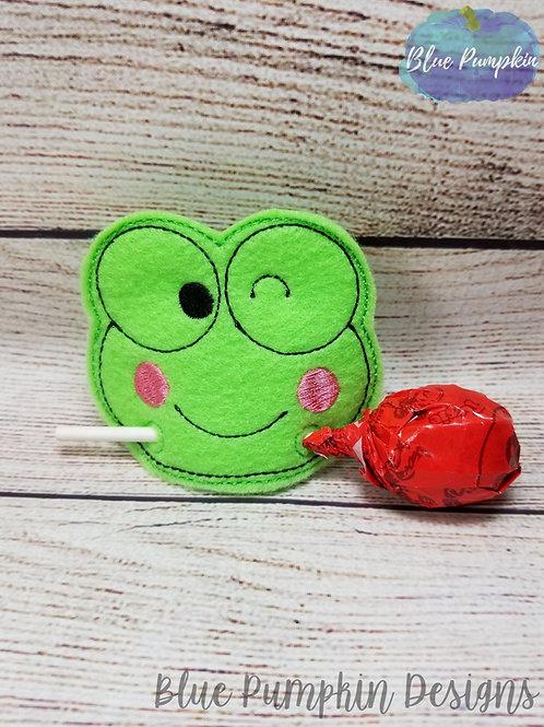 Frog Lollipop/pencil Holder