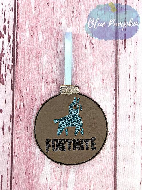 Llama Fortnite Ornament Design
