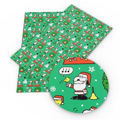 Christmas Dog Embroidery Vinyl