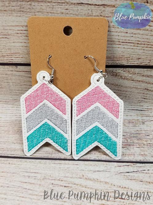 Chevron Sketch Earrings