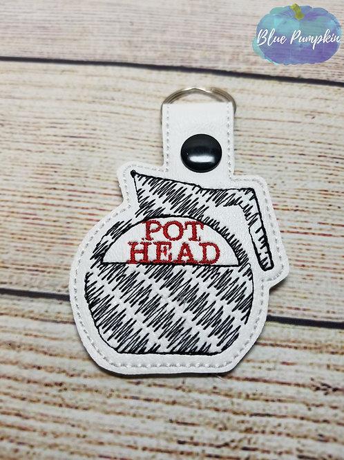 Pot Head Key Fob