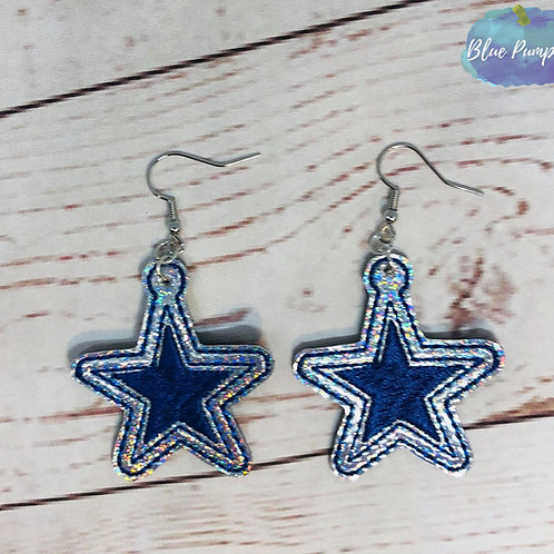 Cowboy Stars Earrings