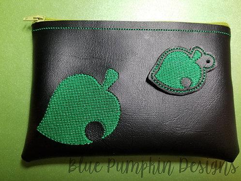 AC Leaf ITH Zipper Bag Design