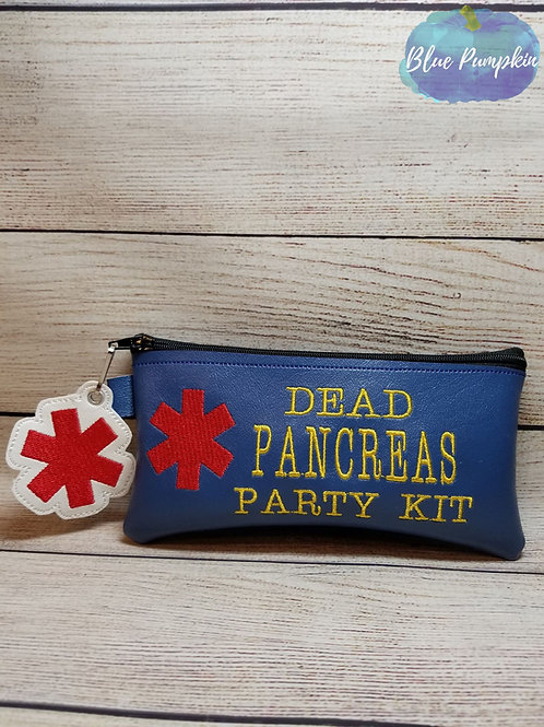 Dead Pancrease ITH Zipper Bag Design