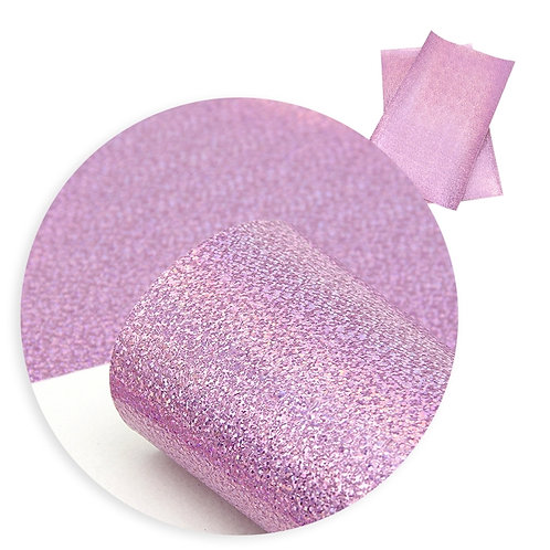 Light Pink with Irrid Sparkles Embroidery Vinyl