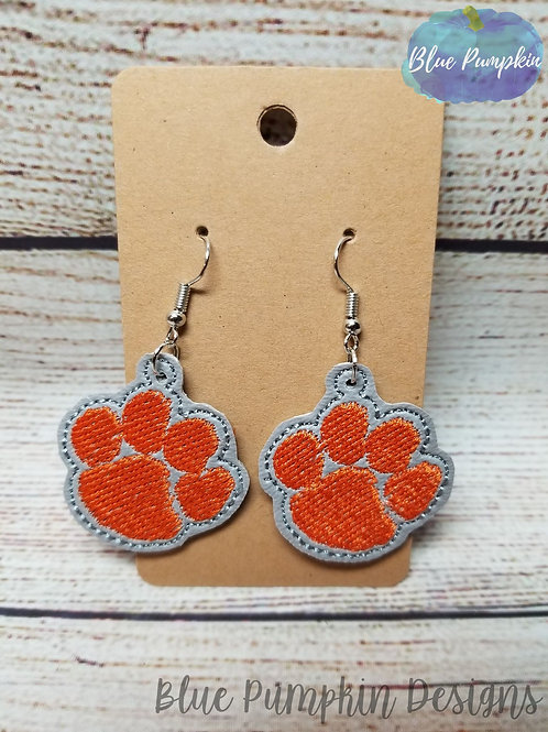 1pm Paw Earrings