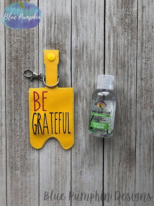 2oz Be Grateful Sani Bottle Holder