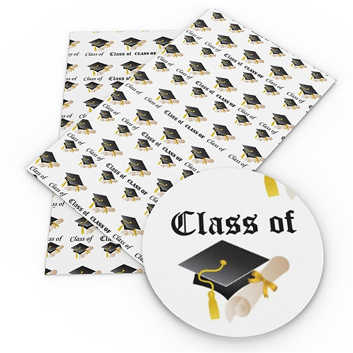 Class of Print Embroidery Vinyl