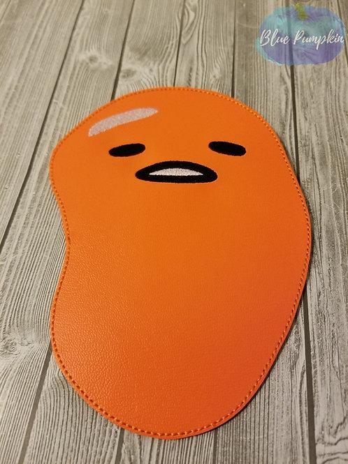 Depressed Egg Man Mouse Pad Design