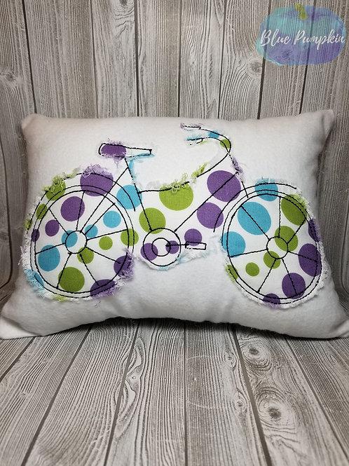 Bicycle Pillow 5x7