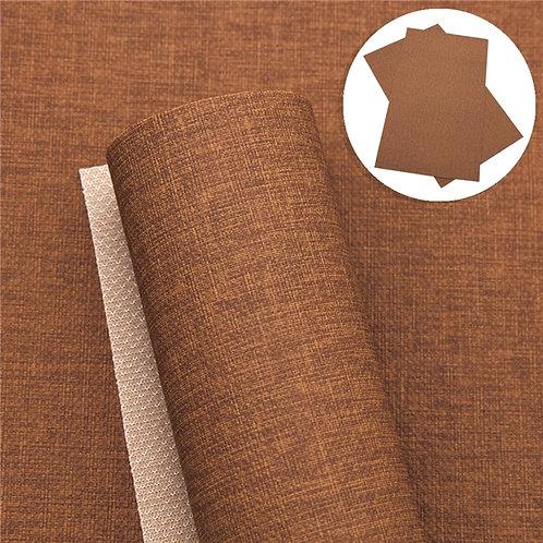 "Brown ""Linen"" Embroidery Vinyl"