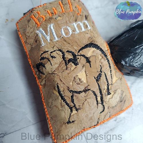 Bully Mom Side Dispenser Poop Bag Holder