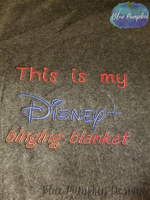 D+ Watching Blanket Design