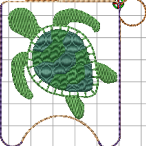 4x4 Turtle 1oz  Sani Bottle Holder