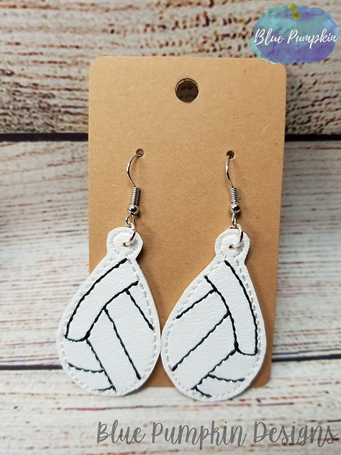 Volley Ball Earrings