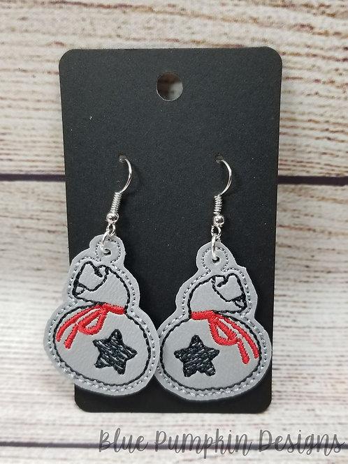AC Bag Earrings