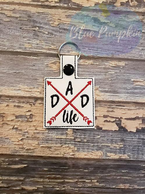 Dad Life Key Fob