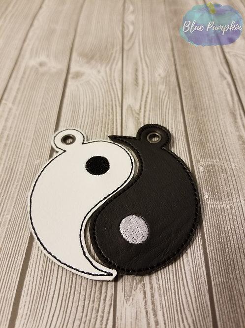 BFF Ying and Yang Key Fob