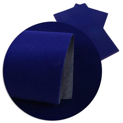 Blue Velvet Embroidery Vinyl