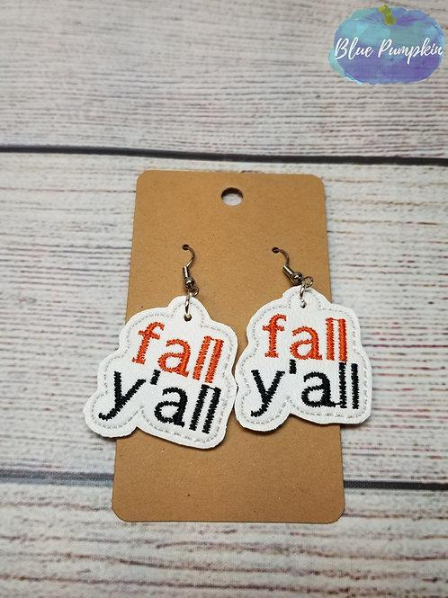 Fall Y'all Earrings