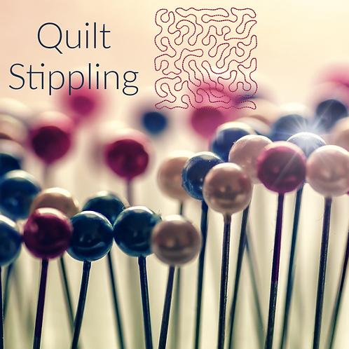 5x5 Quilt Stippling