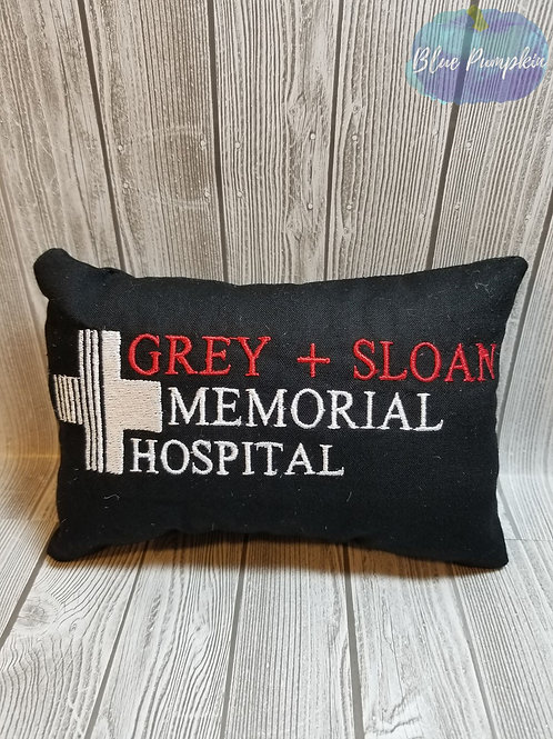 Grey Sloan Pillow 5x7