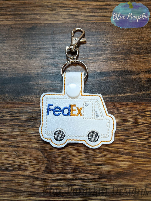 FedEx Delivery Truck Key Fob