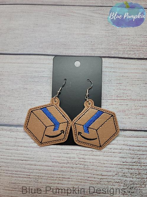 Amzn Box Earrings