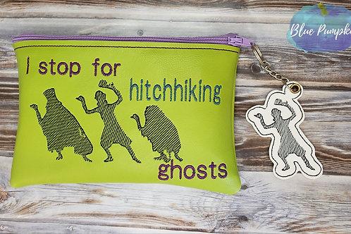 Hitchhiking Ghosts Bag ITH Zipper Bag Design