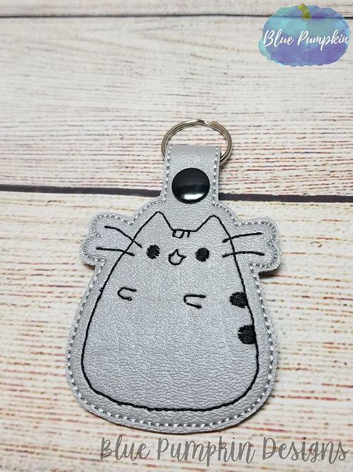 Cutie Cat Key Fob