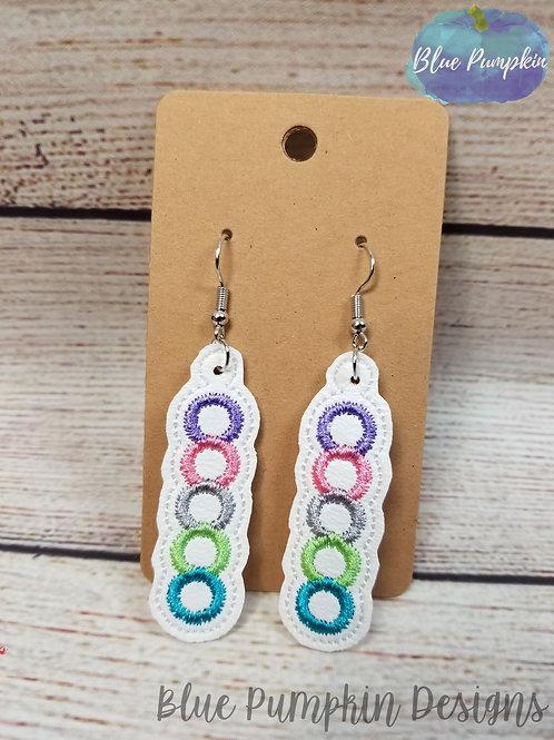 Mini Circles Earrings