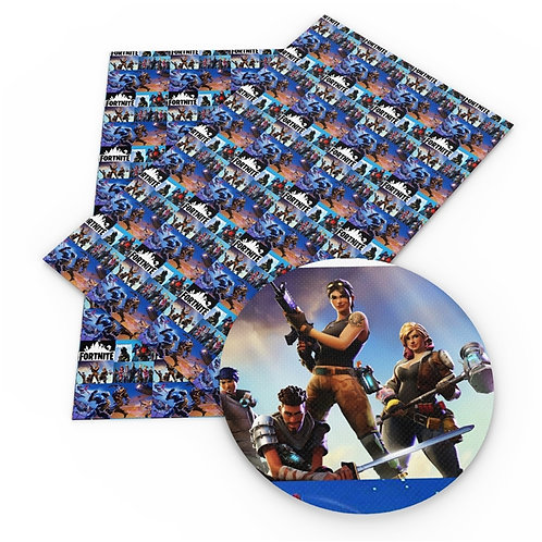 Collage Video Game Print Embroidery Vinyl