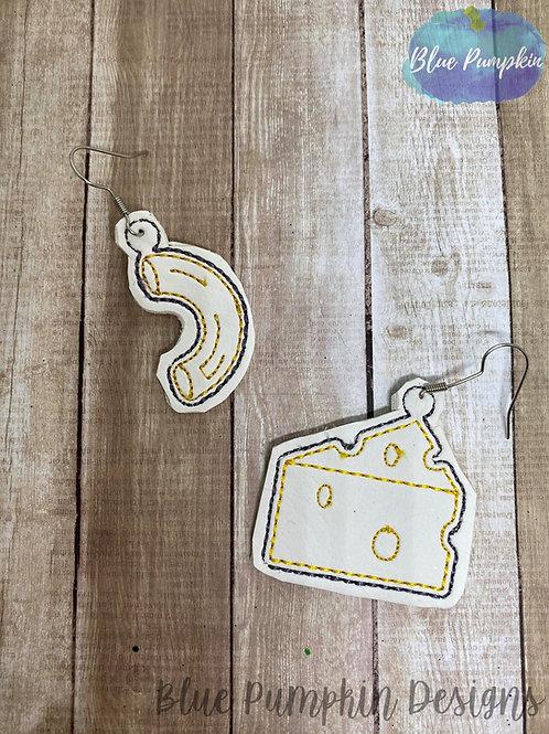 Mac and Cheese Earrings