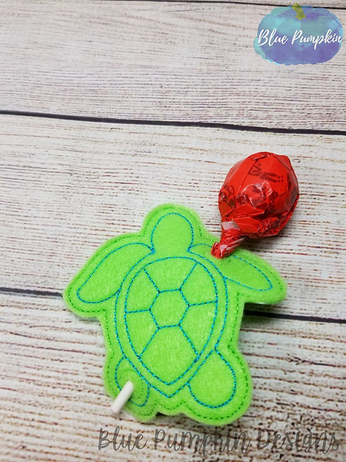 Turtle Lollipop/pencil Holder