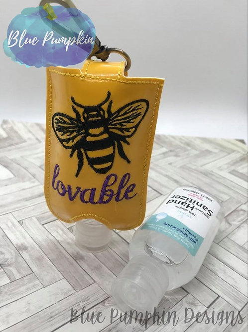 2oz Bee Lovable Sani Bottle Holder