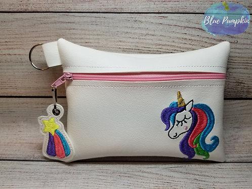 Flowy Unicorn  ITH Bag Design