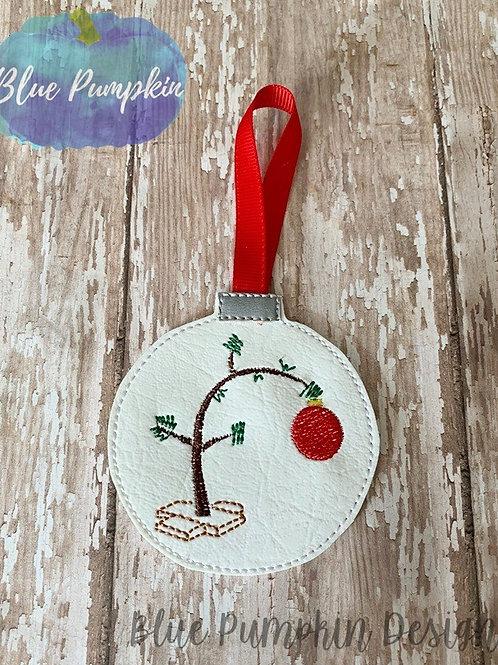 CBrown Tree Ornament