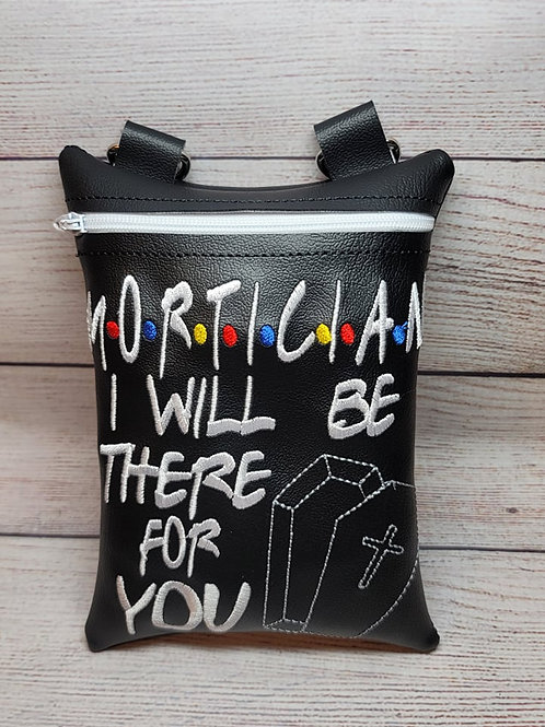 7x5 Be there for you Crossbody Zipper Bag Design