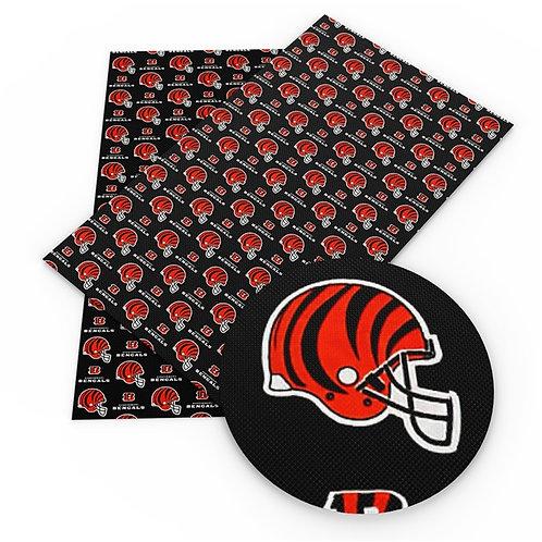 Black Bengals Embroidery Vinyl