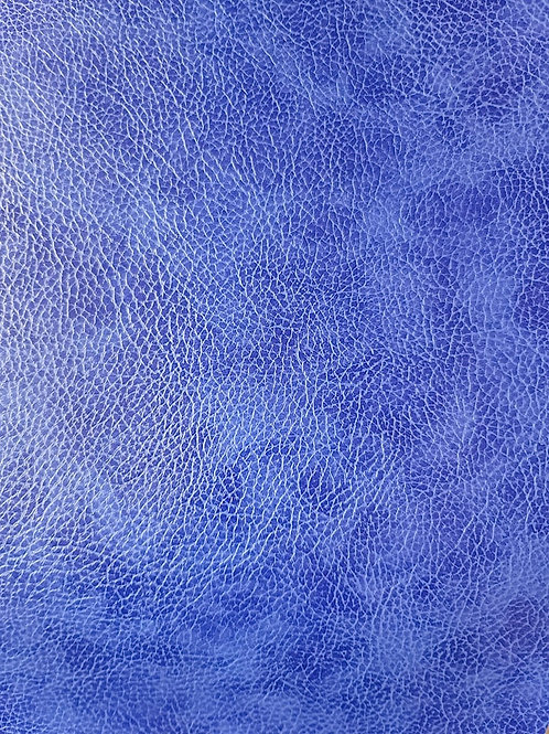 Blue Distressed Embroidery Vinyl
