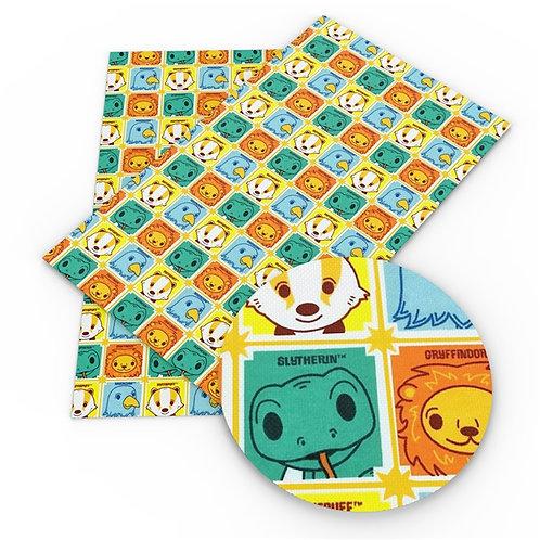 Cartoon House Mascots Embroidery Vinyl