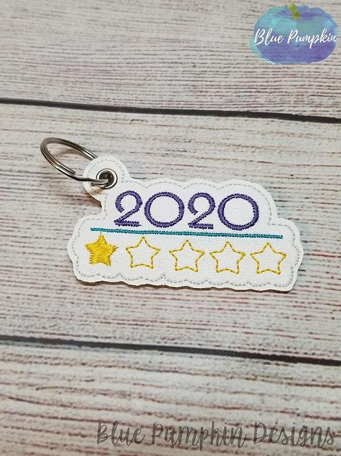2020 1 star eyelet Key Fob