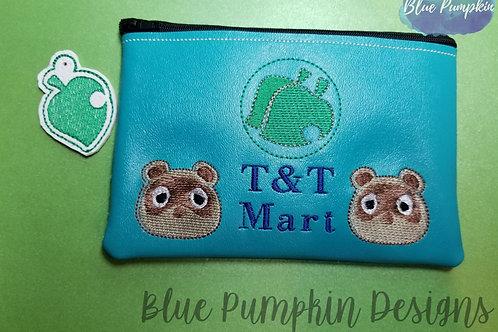 T&T Mart ITH Zipper Bag Design