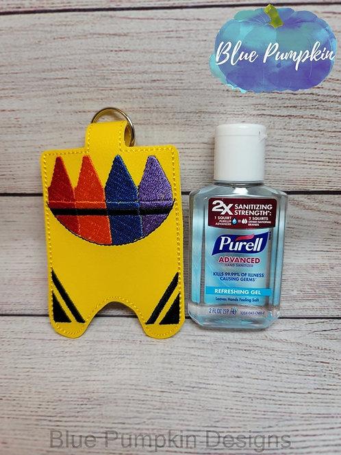 Crayon Box 2oz Hand Sanitizer Holder