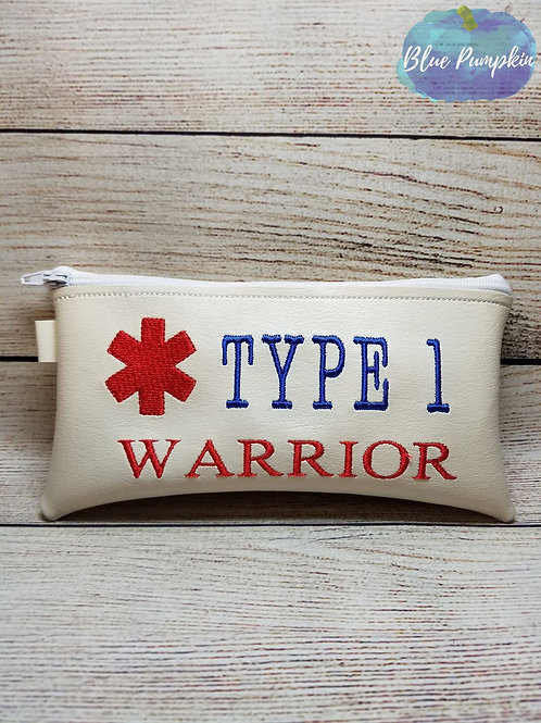 5x8 Type 1 Warrior ITH Zipper Bag Design