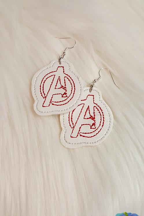 Avengers  ITH Earring Design