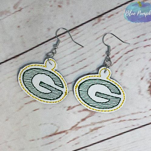 Green Bay Earrings